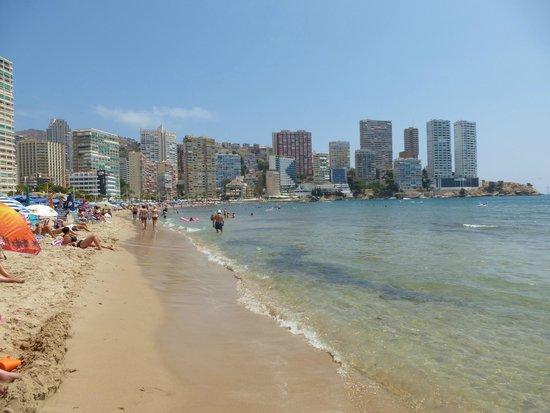 Hotel Ambassador Playa I & II: levante beach