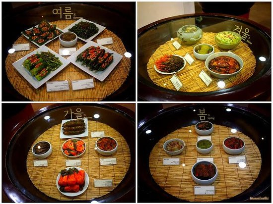 Museum Kimchikan: Different types for kimchi