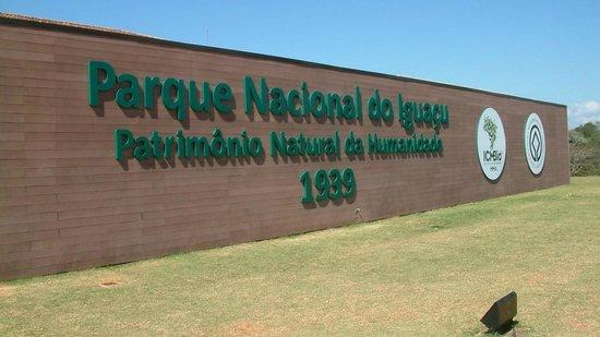 Iguazu Falls: ENTRANCE