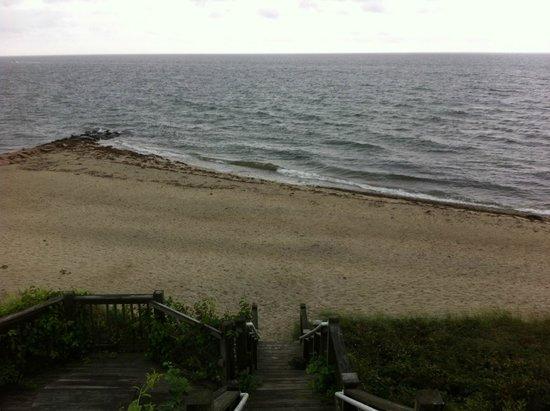 Inn on the Sound: Private beach
