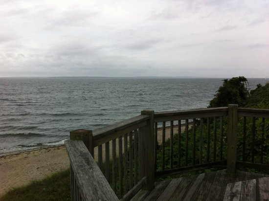 Inn on the Sound: View from the private beach