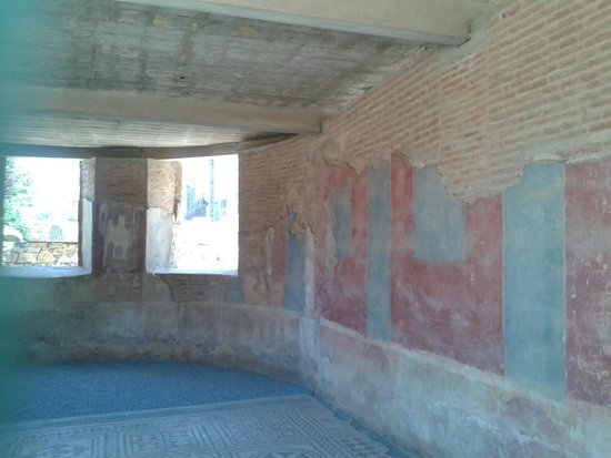 Teatro Romano de Mérida: pared casa