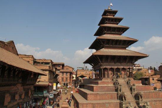 Nyatapola Temple: 五重塔がシンボル