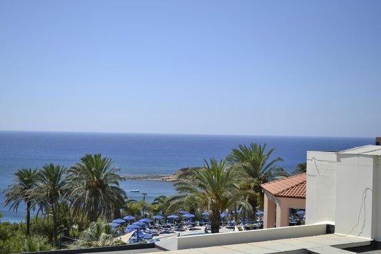 Rodos Princess Beach Hotel: Ausblick vom Balkon