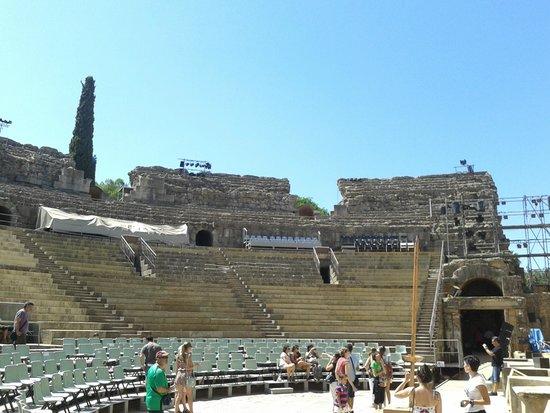 Teatro Romano de Mérida: gradas