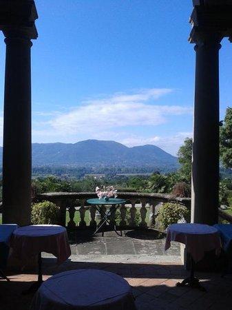 Hotel Fabbrica di San Martino : View at breakfast!