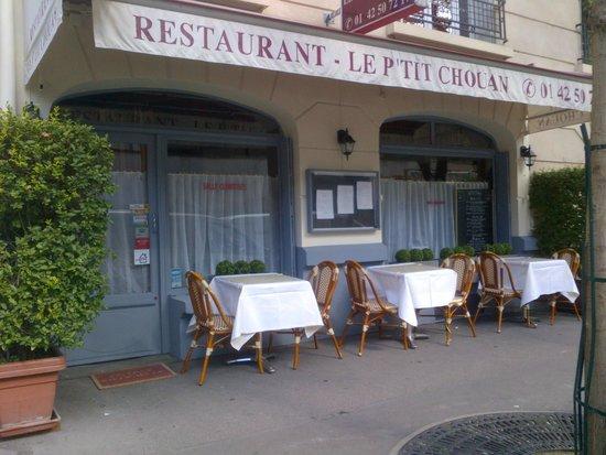 Le P'Tit Chouan: restaurant le ptit chouan