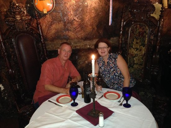 Da Marino Restaurant: Our favorite table at Damarino's