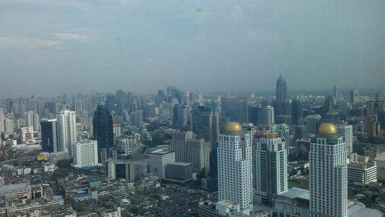 Baiyoke Sky Hotel: vue de la chambre