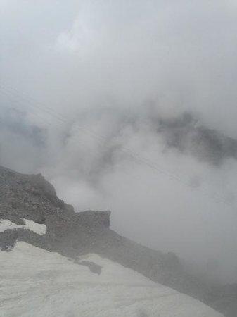 Mount Titlis : fog!!!