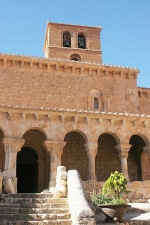 San Esteban De Gormaz, Hiszpania: Entrada principal