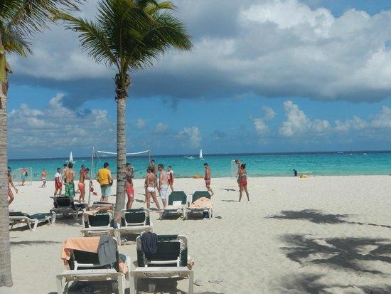 ClubHotel Riu Tequila: playa