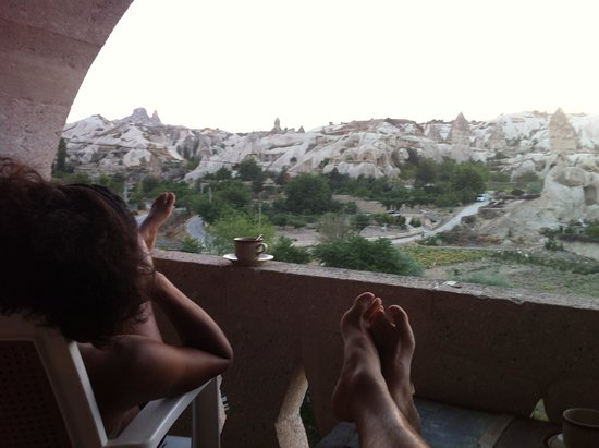 Elif Star Caves : Balcony view