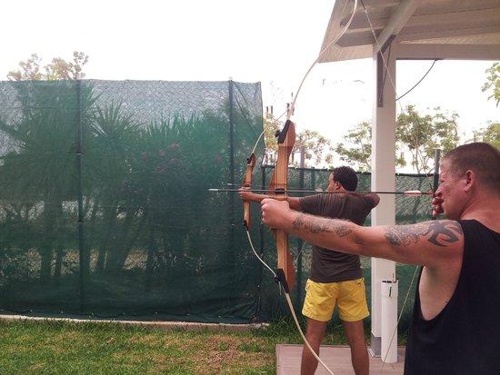 SENTIDO Le Sultan: Archery