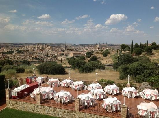 Hotel Cigarral Domenico : Hotel Dining Terrace