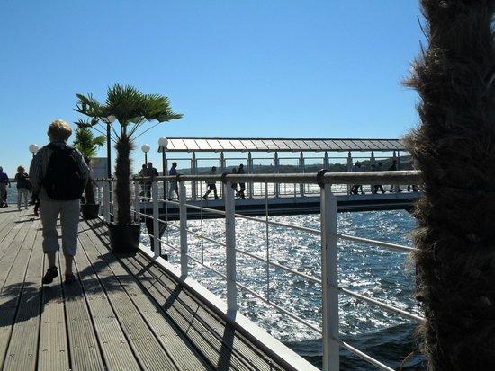 Ponte Rialto: Pier