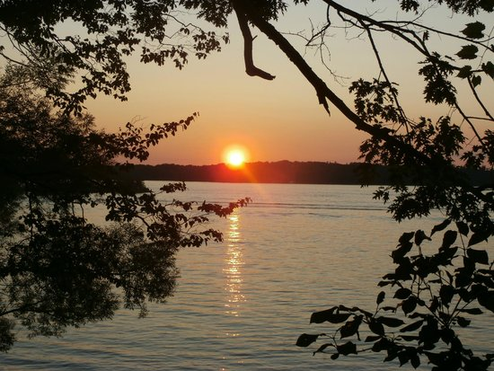 Wellesley Island, NY: Sunset