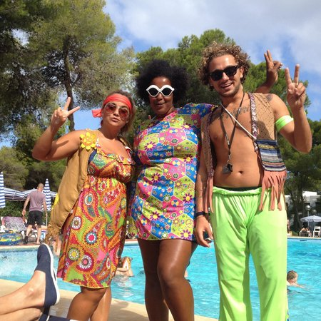 Fiesta Hotel Tanit : POP team :-)