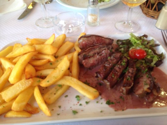 Brasserie Les Bains : Maigret de canard