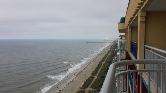 Grand Atlantic Ocean Resort: view from the balcony