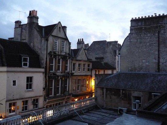 St Christopher's Inn Bath : Outside the bathroom window