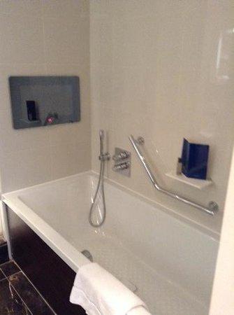 Taj 51 Buckingham Gate Suites and Residences: bath with tv