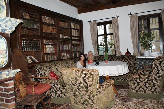 Hotel Burg Colmberg: Castle Library