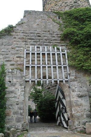 Hotel Burg Colmberg: Castle Gate