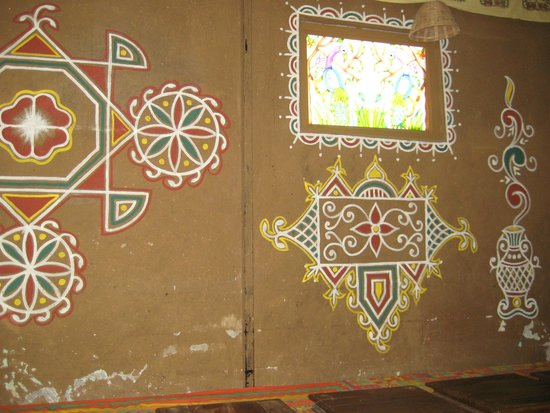 Wall Painting In The Dining Room Picture Of Shri Thaal Village