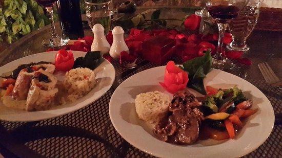 La Casona de Antigua: Una deliciosa cena