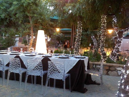 Antica Stazione di Ficuzza : Una cena romantica inolvidable en el campo de Sicilia