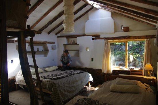 Las Chullpas Eco Lodge : Unique rooms