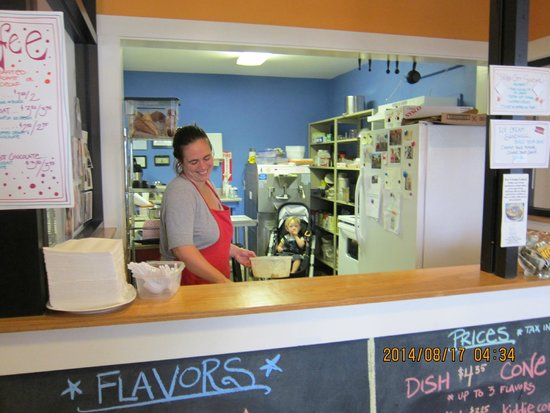 Catbird Creamery: Friendly place, friendly owners