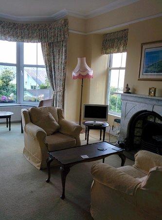 Blenheim Lodge: Common reception room
