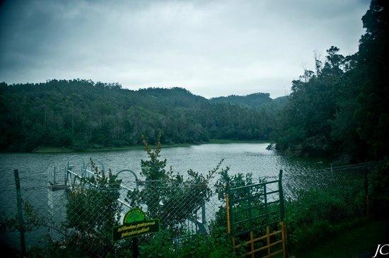 View of Berijam Lake