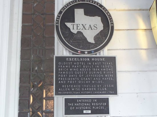 The Excelsior House: Historic marker