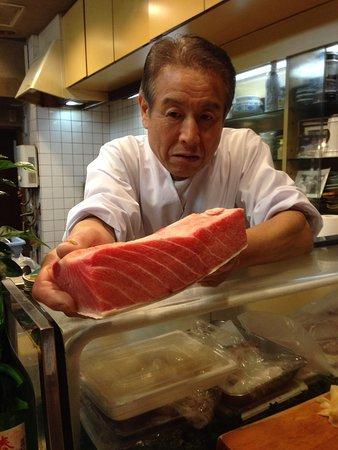Sushiryori Inose: Special tuna