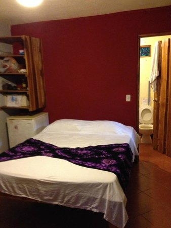 KayaSol Surf Hotel: One of the smallest rooms with mini fridge