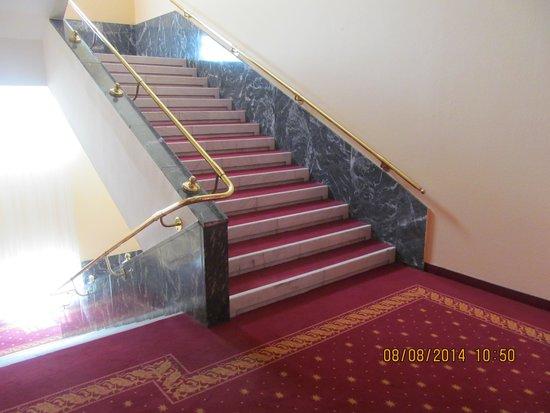 Danubius Grand Hotel Margitsziget: Лестница