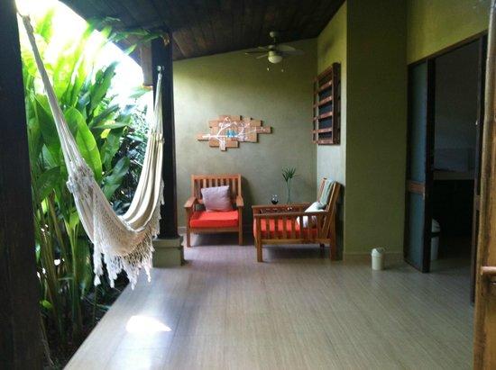 Nautilus Boutique Hotel - Wellness Retreats: sitting area outside of room
