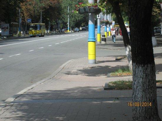 Bratislava Hotel : latarnie - nacjonalizm?