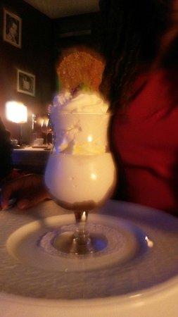Restaurant Alexandra : Dessert Mont blanc