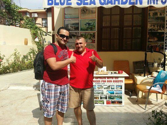 Blue Sea Garden: Thanks yalmiz
