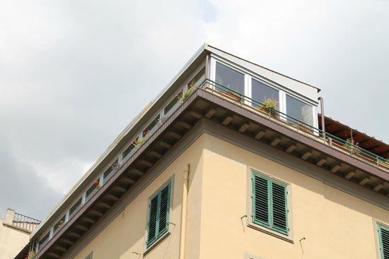 Albergo Hotel Panorama Firenze: terrazza per la colazione