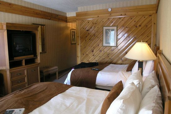 Pinestone Resort and Conference Centre : Double room
