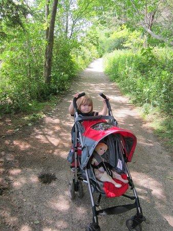 Mackworth Island: stroller-friendly!