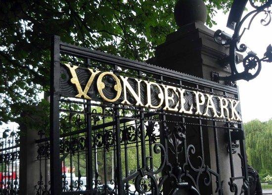 Vondelpark : vondel park