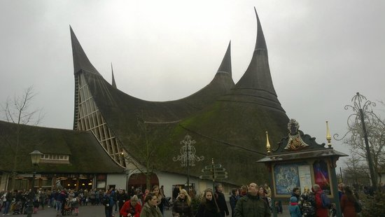 Efteling main entrance door !