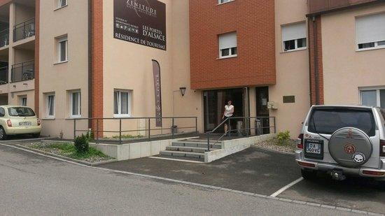 Zenitude Hôtel-Résidences Les Portes d'Alsace : Entrée