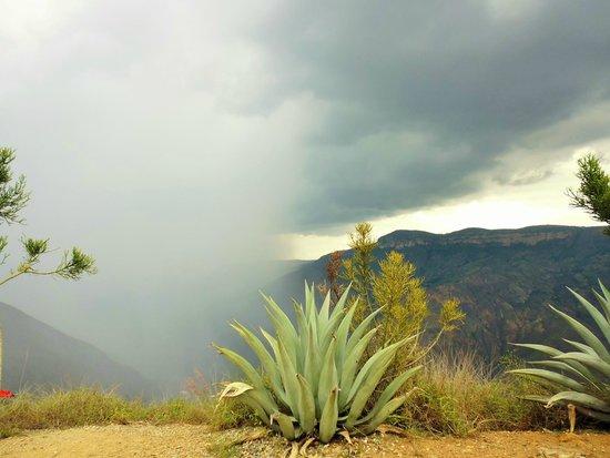 Parque Nacional de Chicamocha: lluvia